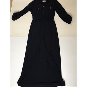3/15$ emma & michele half sleeve maxi dress